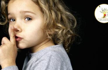 کودکی که صحبت دیگران را قطع می کند!